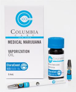 Columbia Care Medical Marijuana Vape Cartridge Pen ClaraCeed