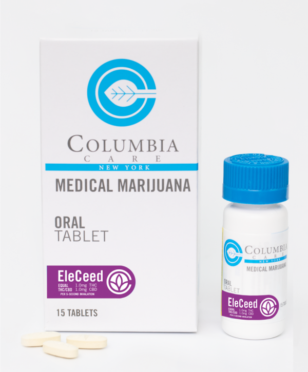 NY Dispensary Product: Columbia Care Medical Marijuana Oral Tablet EleCeed Tablets