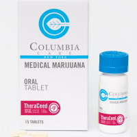 Theraceed Tablet High THC & CBD Medical Marijuana Tablet by Columbia Care