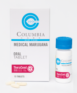 Theraceed Tablet High THC & CBD Medical Marijuana Capsule by Columbia Care
