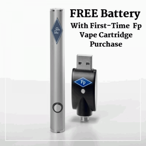 FREE Battery With First-Time Fp Vape Cartridge Purchase Fp WELLNESS NY Medical Marijuana Dispensary