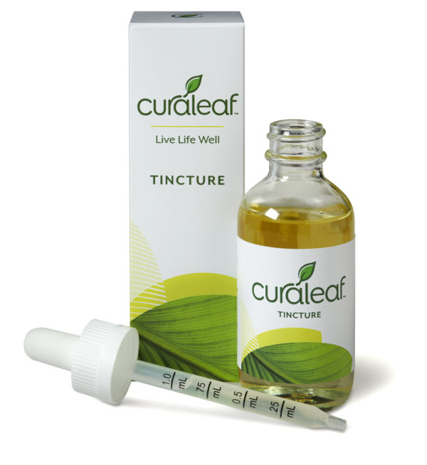 Equal THC & CBD Unflavored Medical Marijuana Tincture by Curaleaf