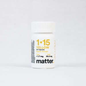 NY-cannabis_Yellow Capsules_20CT-by-pharmacann