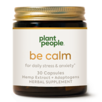CBD Capsules Be Calm by Plant People