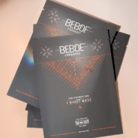 CBD Face Mask 50mg High-Potency Sheet by BEBOE